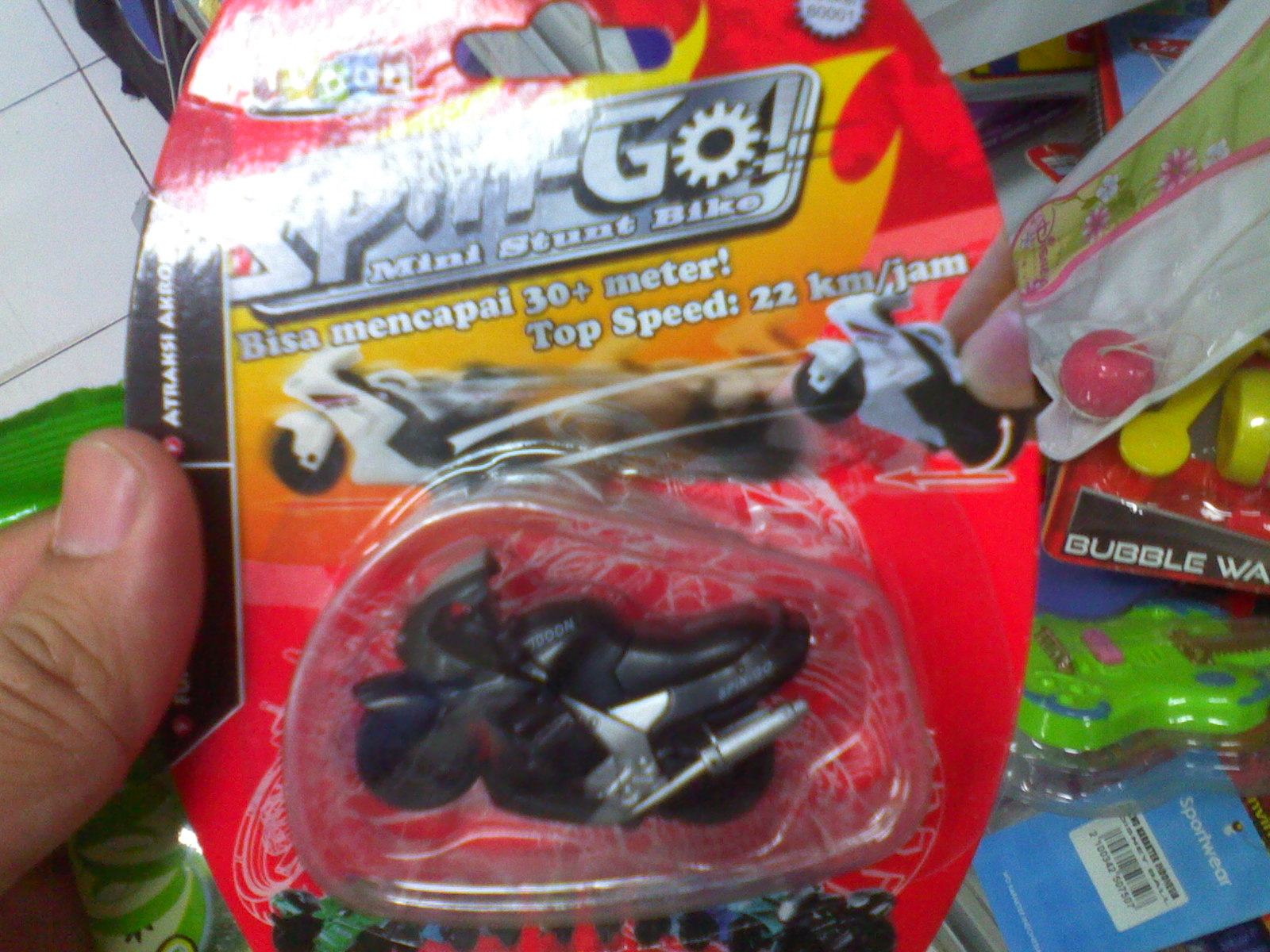 Mainan Baru Spin Go Ramboeistblast