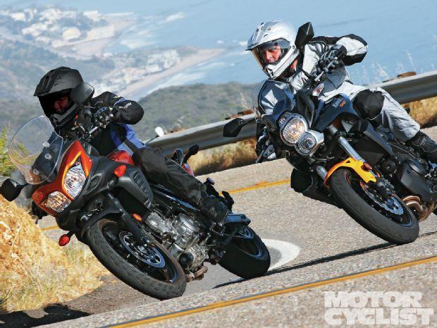 Kawasaki Versys vs Suzuki V-Strom