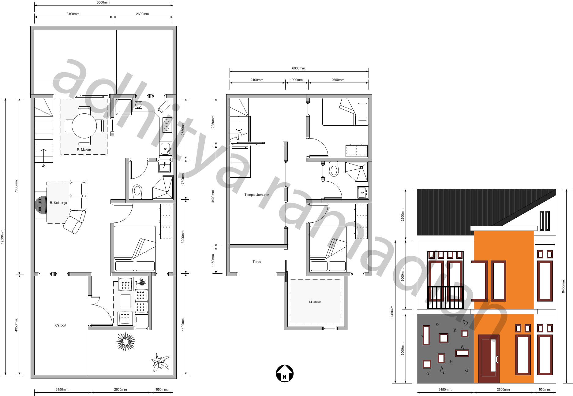 mendesain rumah menggunakan visio ramboeistblast