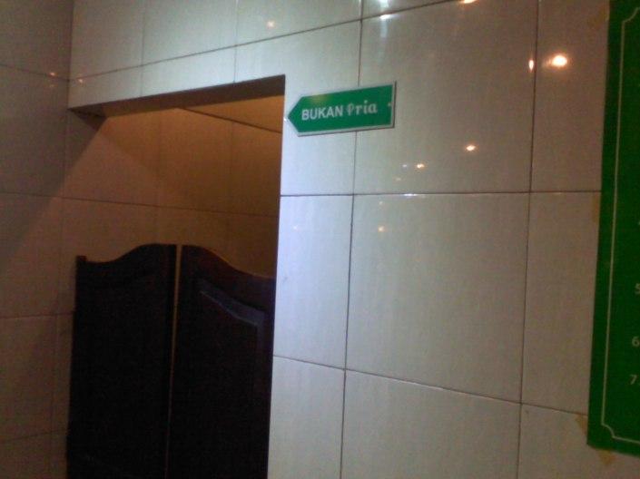 ini toilet wanita
